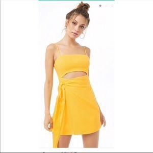 Forever 21 Cutout Wrap Dress